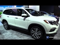 2017 Honda Pilot Elite AWD - Exterior and Interior Walkaround - 2017 Detroit Auto Show