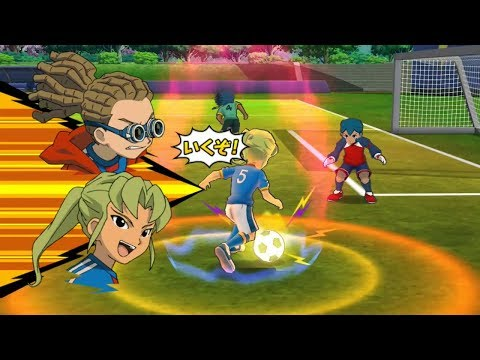 Inazuma Eleven Go Strikers 2013 Custom team: Inazuma Japan Vs Little Gigant Wii (Dolphin/Gameplay)
