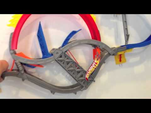 Hot Wheels Wall Tracks Installation Review Youtube