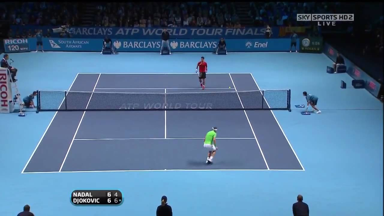Atp World Tour Finals 2009 Rr Nadal Djokovic Highlights Hd Youtube