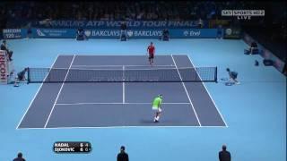 ATP World Tour Finals 2009 RR Nadal-Djokovic highlights (HD)