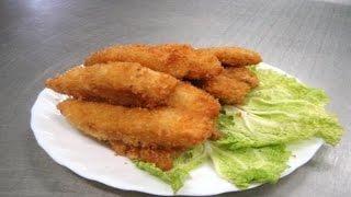 Как приготовить рыбу во фритюре.  | How to cook fish in oil.