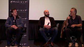 HOTEL MUMBAI W/actor Jason Isaacs, Writ-dir Anthony Maras, Writ John Collee; Mod By Scott Mantz