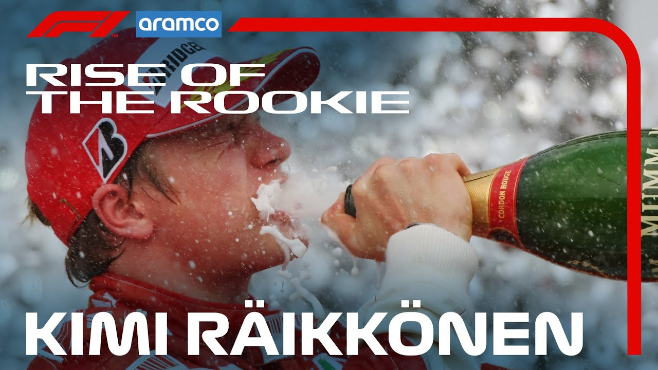 Kimi Raikkonen: The Story So Far | Rise of the Rookie presented by Aramco