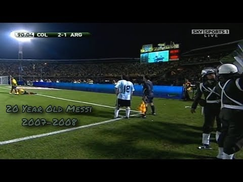 The 20 Year Old Messi ► Pure Dribbling Skills 2007/2008