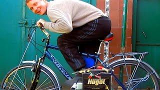 Генератор своими руками на 220 вольт. DIY Bike Generator(Я покажу как собрать простой, но достаточно мощный, генератор на 220 вольт. ПОТРЕБУЕТСЯ: - коллекторный мотор,..., 2014-12-26T13:51:48.000Z)