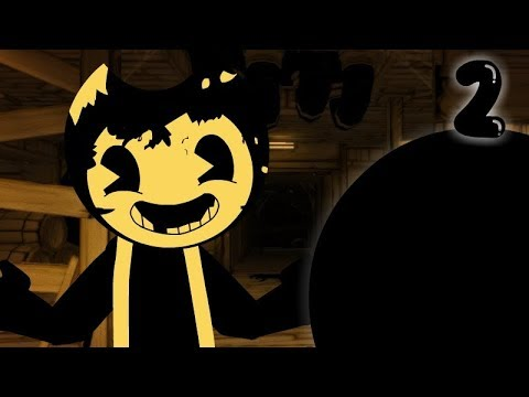 Stickman Vs Bendy And The Ink Machine, Chapter 2 In A Nutshell | Animation