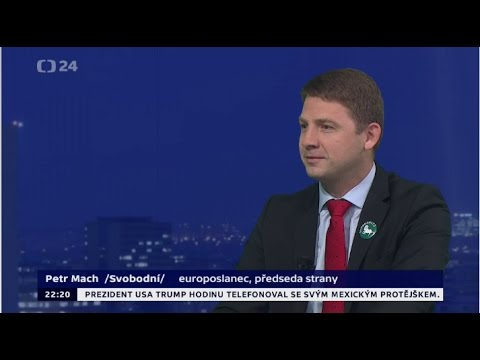 Petr Mach — Události, komentáře 27. 1. 2017