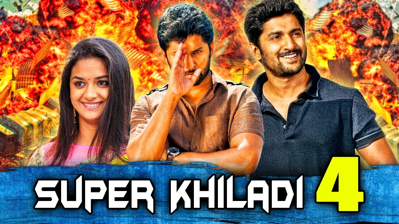 Download Super Khiladi 4 (Nenu Local) - Telugu Romantic Hindi Dubbed Full Movie   Nani, Keerthy Suresh