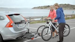 volvo accessories bike carrier opening tailgate