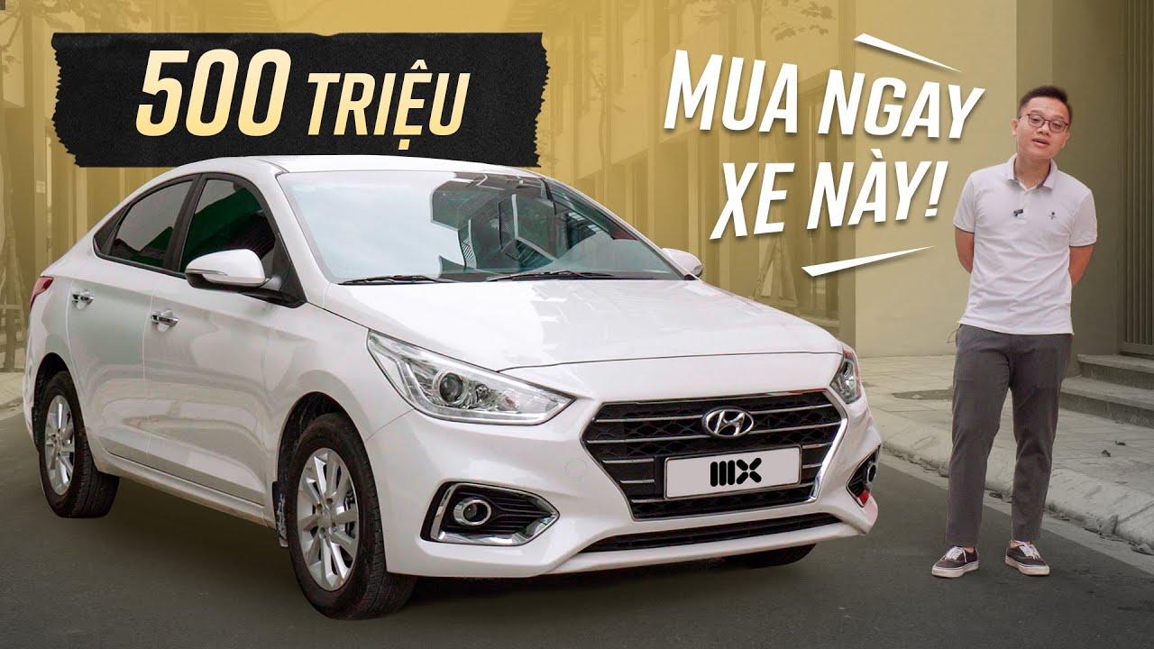 Có ĐÚNG 500 TRIỆU mua ngay Hyundai Accent AT 2019