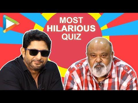 LAUGH RIOT: Arshad Warsi & Saurabh Shukla鈥檚 BLOCKBUSTER Quiz | Fraud Saiyaan