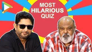 LAUGH RIOT: Arshad Warsi & Saurabh Shukla's BLOCKBUSTER Quiz | Fraud Saiyaan