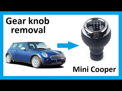How to remove the gear knob from Mini Cooper