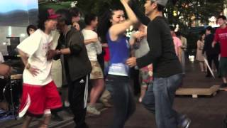 TAP JAM on the street at SHIBUYA STATION part.01