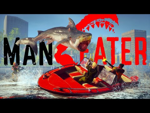 Chomping Down On All The Humans - First Boss Kills & Apex Predators - Maneater Gameplay |
