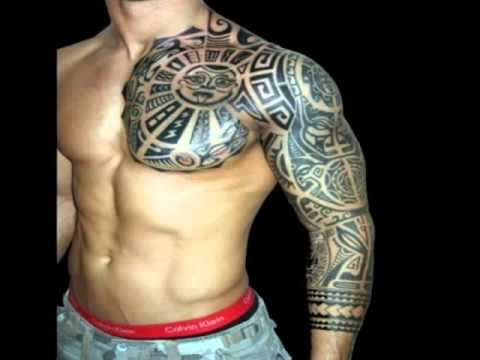 arm tattoos for men - tribal arm tattoos designs - youtube