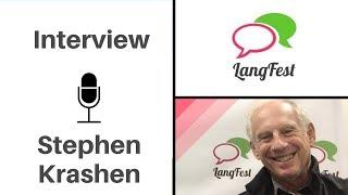 Stephen Krashen: Comprehensible Input