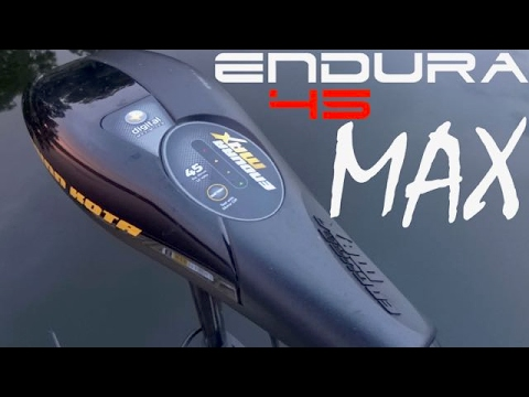 Perfect trolling motor for small boats, canoes, kayaks - Minn Kota Endura  MAX 45