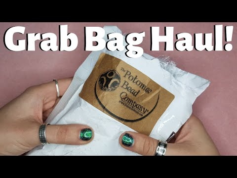 Grab Bag Haul From Potomac Beads! Let's Open These Grab Bags Together!