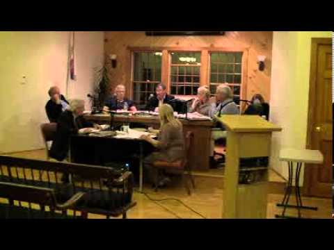 HOPKINTON TOWN COUNCIL MEETING -- October 7, 2013