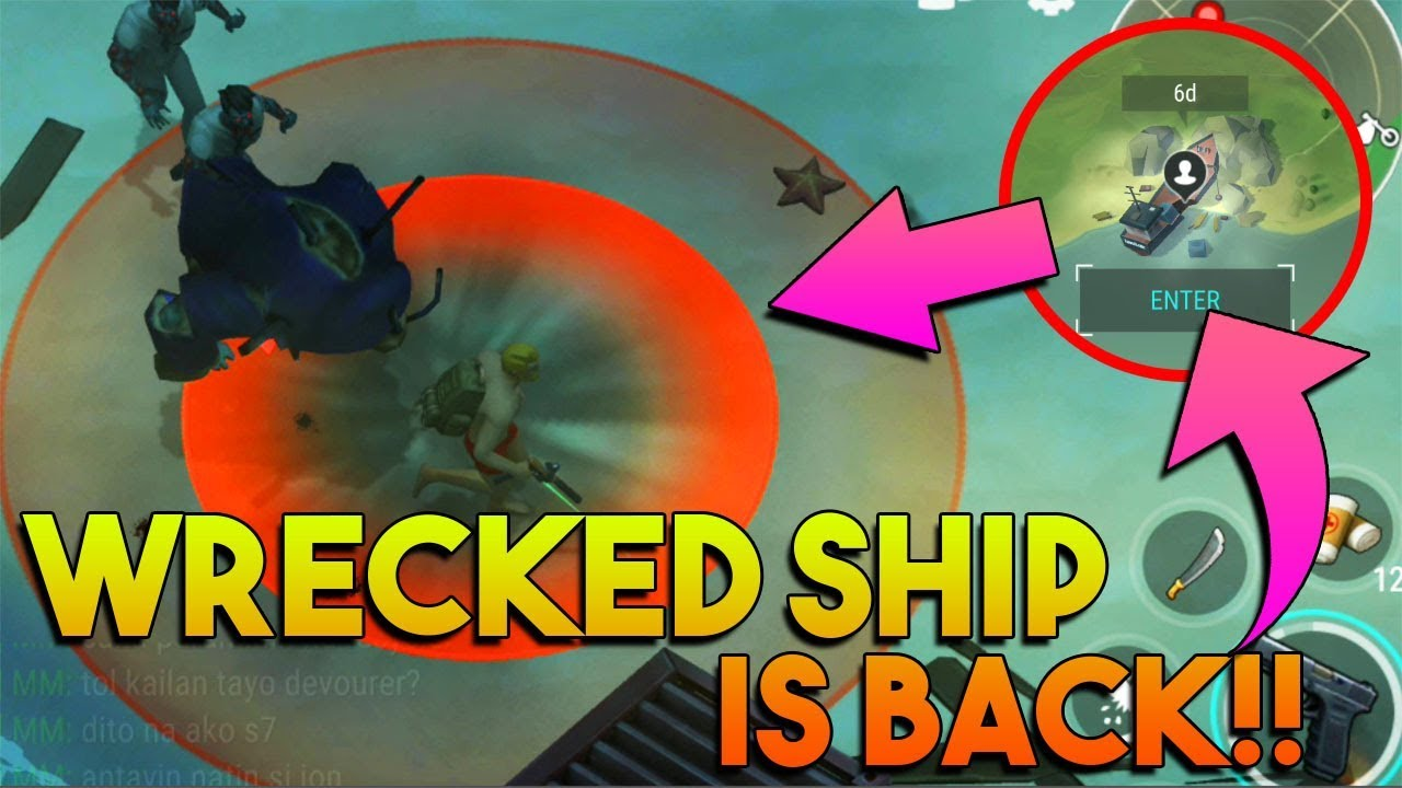 WRECKED SHIP EVENT IS BACK!!  |  CHARLIE SR. TASK |  LAST DAY ON EARTH: SURVIVAL