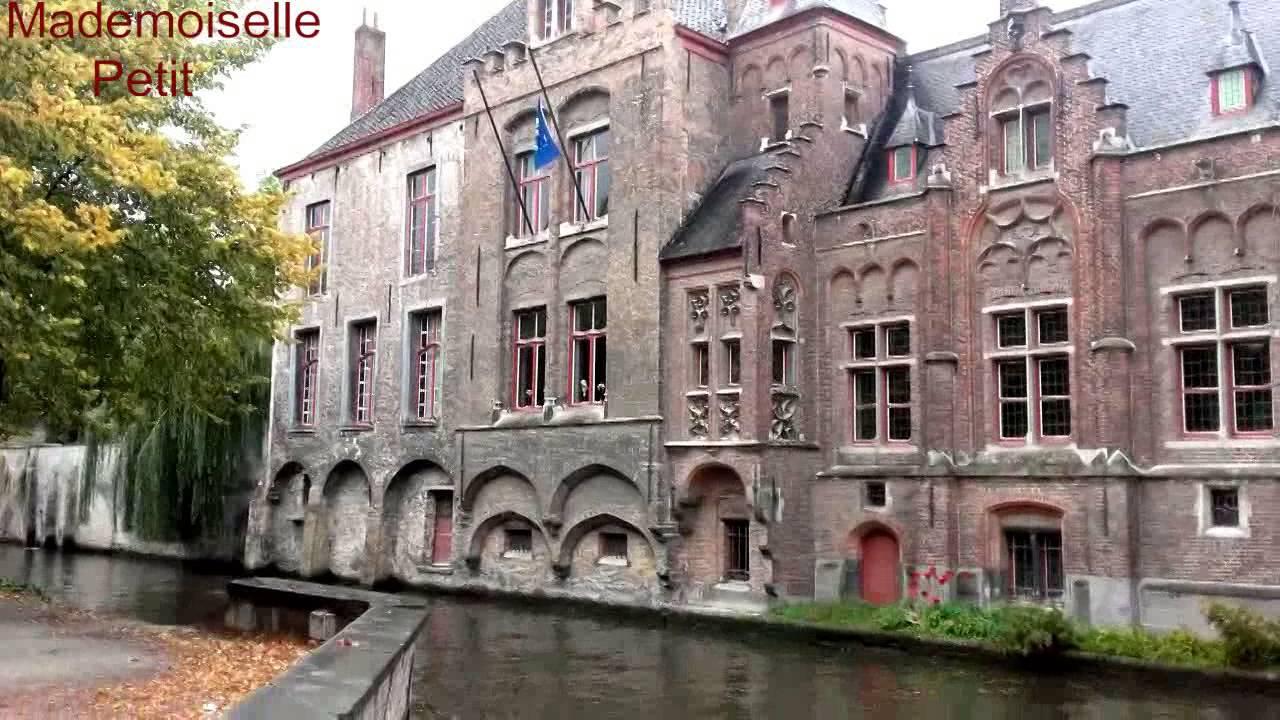 фото город брюгге бельгия