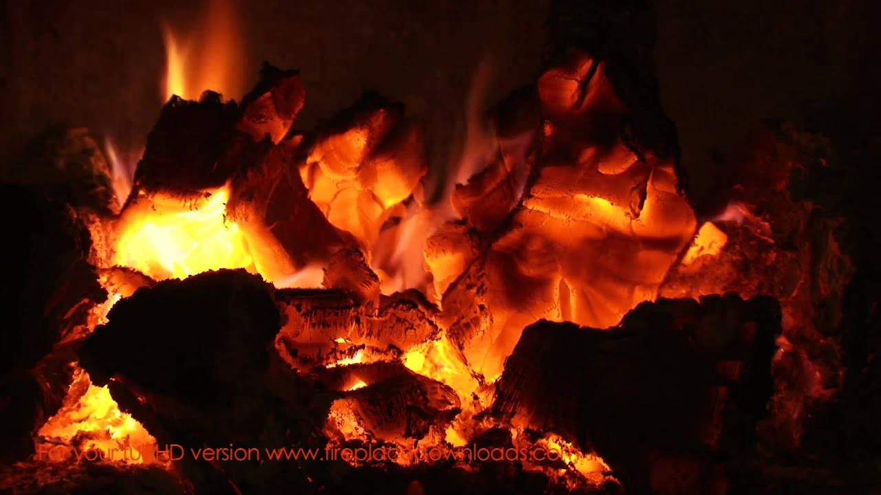 VIRTUAL HD FIREPLACE VIDEO 1080p (Red Embers)- Fireplace downloads ...