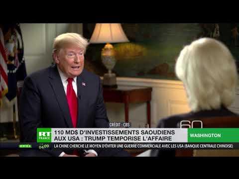 Affaire Khashoggi : Donald Trump menace Riyad d'un «châtiment sévère»