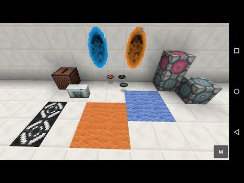 Portal 2 Mod - 0.12 mod update preview - Minecraft PE (Pocket Edition)