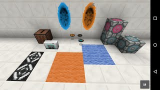 Portal 2 Mod - 0.12 mod update preview - Minecraft PE (Pocket Edition)