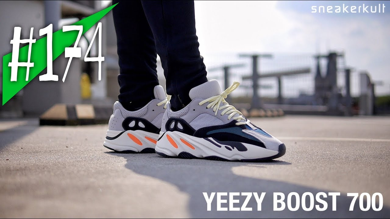 1a07b9c5a54  174 - adidas YEEZY BOOST 700 Wave Runner - Review on feet - sneakerkult