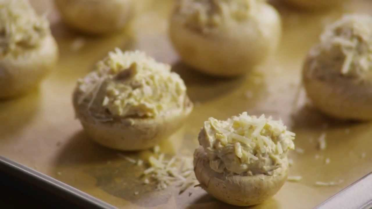 How to Make Stuffed Mushrooms | Stuffed Mushrooms Recipe ...