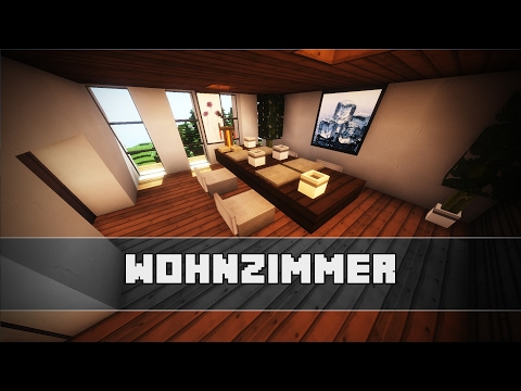 Wohnzimmer Mittelalterliche Einrichtung Minecraft Tutorial