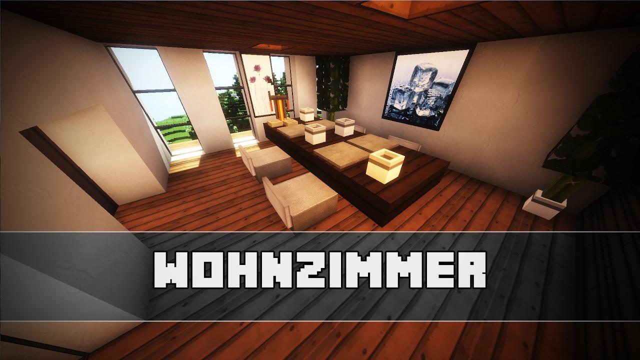 ESSZIMMER bauen  Moderne Einrichtung  Minecraft