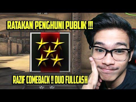DUO FULL CASH KEMBALI MERATAKAN SERVER PUBLIK !!! POINT BLANK GARENA INDONESIA