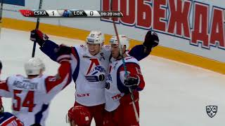 Lokomotiv 3 CSKA 2 OT, 21 October 2017 Highlights