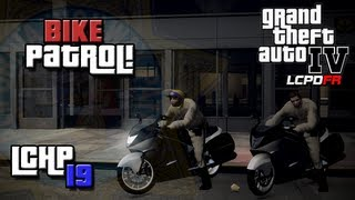GTA IV LCPDFR lCHP MP #19 - Bike Patrol!