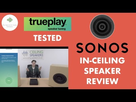 new-sonos-ceiling-speakers-|-review---trueplay-set-up-&-test