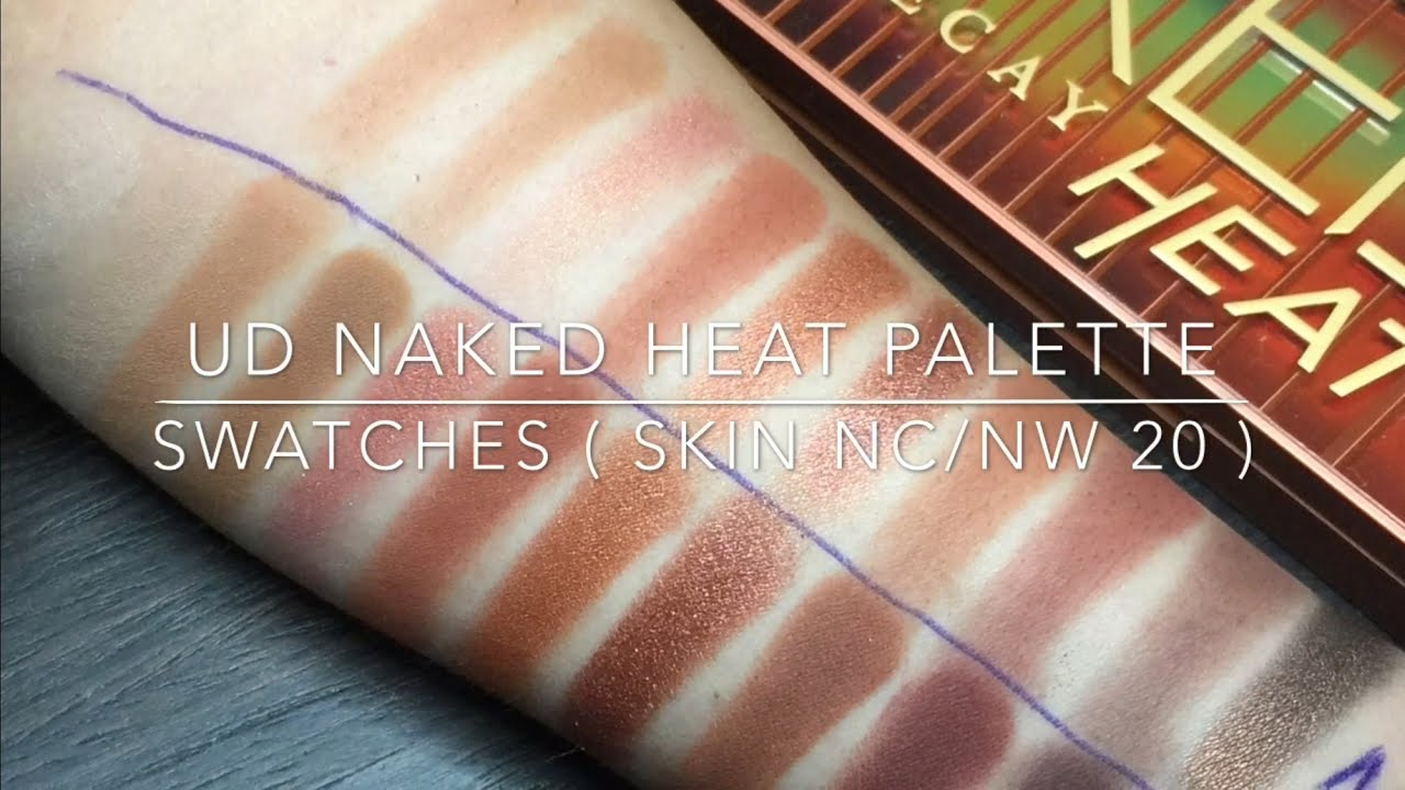Urban Decay Naked Heat Review & Swatches - Beauddiction