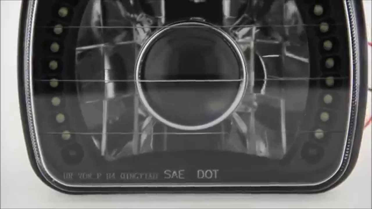 ОБЗОР, Распаковка оптики (Фары Черные) ОКА, КАМАЗ, Mazda, Toyota .