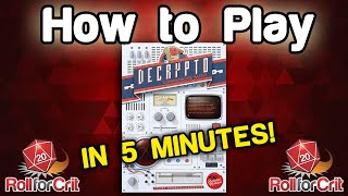 How to Play Decrypto | Roll For Crit