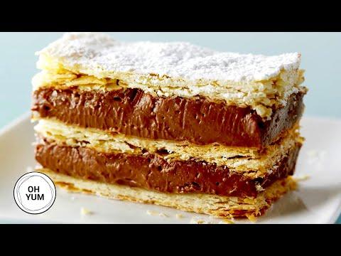 Chocolate Hazelnut Napoleon | Oh Yum with Anna Olson