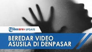 Beredar Video Asusila Seorang Wanita Bersama 3 Pria di Kamar Hotel di Denpasar