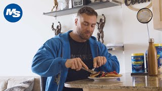 What Pro Bodybuilders Eat for Breakfast | Chris Bumstead