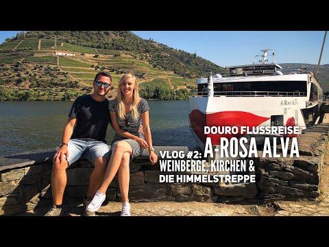 Douro Kreuzfahrt mit A-Rosa - Vlog #2: Der Douro & die Himmelstreppe von Lamego
