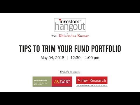 Episode 65: Tips to trim your fund portfolio