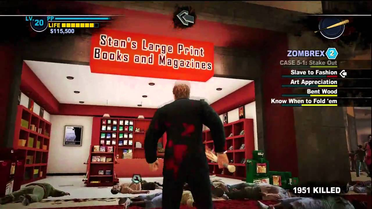 Where are all 3 gambling magazines in dead rising 2 ms casinoes