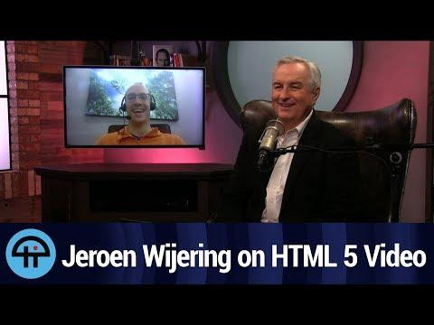 Jeroen Wijering Explains HTML 5 Video