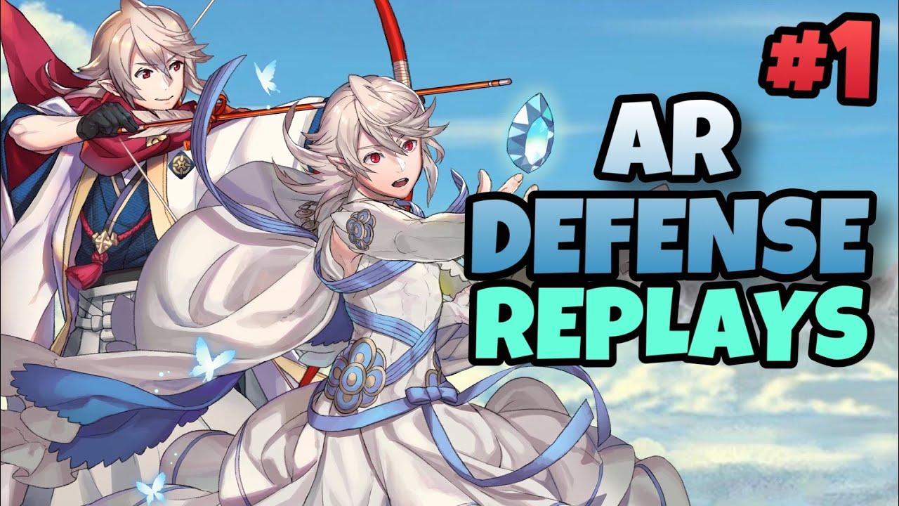 AR Defense Replays #1 - Fire Emblem Heroes